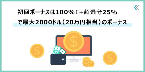 iFOREXのボーナス_100%入金ボーナス+25%ウェルカムボーナスのアイキャッチ画像